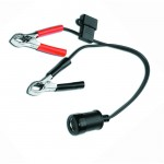 12v Battery Adapter with Clamps