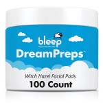 Bleep DreamPreps Facial Pads - 100 count