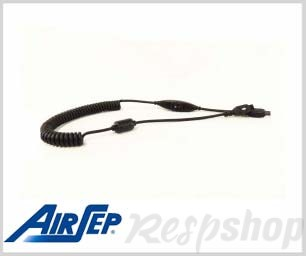 AirSep Focus Coil Cord With Switch For Battery