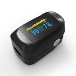 Advanced Finger Pulse Oximeter OLED Display with Sleep Monitor
