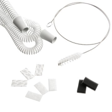 PR System One 60 Series CPAP Tubing, Filter & Supply Kit with FREE Tubing Brush