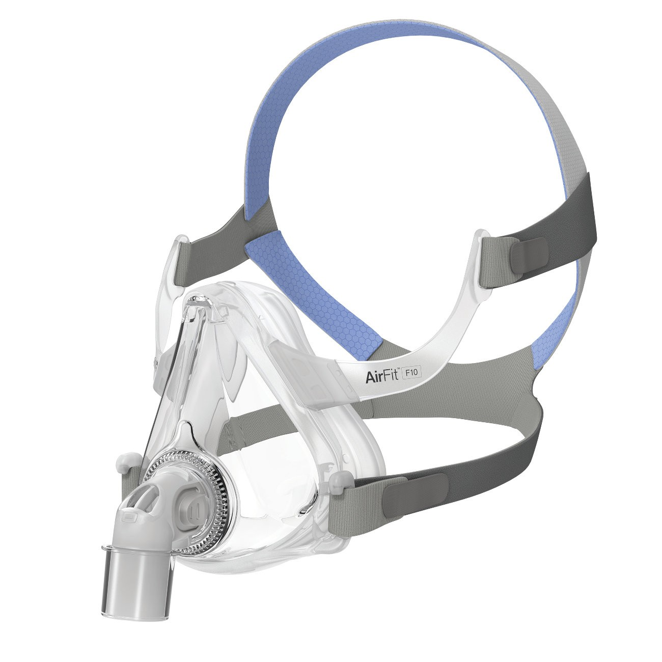 ResMed F10 Full Face Mask with Headgear - CPAP Mask Sizing Gauge