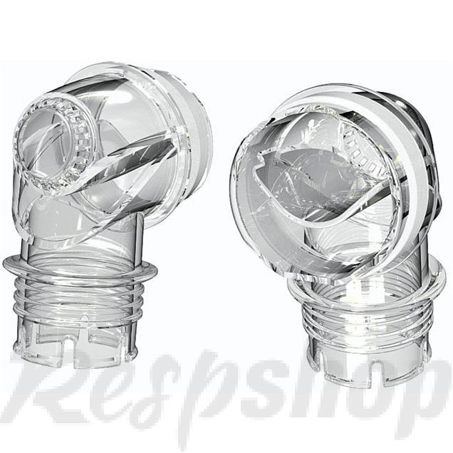 Mask Elbow for Mirage™ SoftGel, Mirage Activa™ LT and Mirage Micro™ Nasal Masks