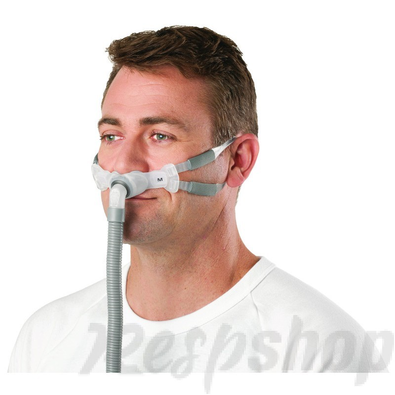 Swift FX Bella Gray CPAP Nasal Pillow Mask with Headgear