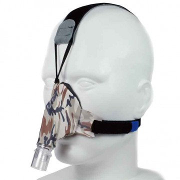 SleepWeaver Advance Soft Cloth Nasal Mask with Headgear