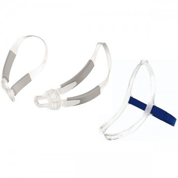 Headgear and Bella Gray Loops Combo Pack for Swift FX Masks