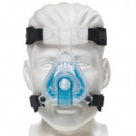 CPAP Nasal Mask with Headgear - ComfortGel Blue