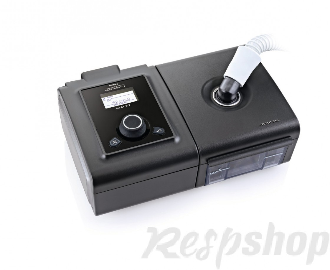 PR System One DS960 BiPAP Machine AutoSV 60 Series with Humidifier & Heated Tubing