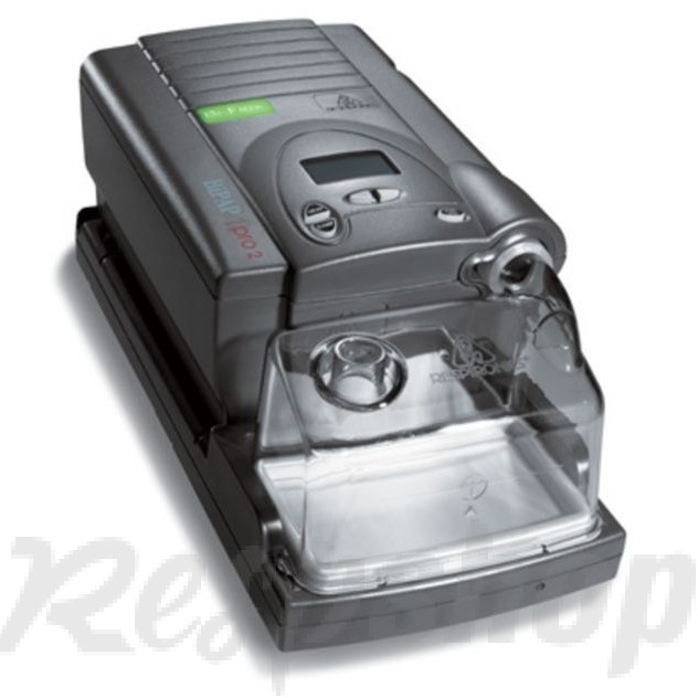 Respironics BiPAP AutoSV Machine with heated humidifier