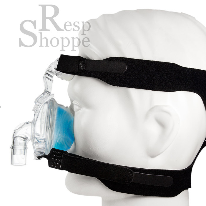 Respironics CPAP Nasal Mask with Headgear - ComfortGel Blue