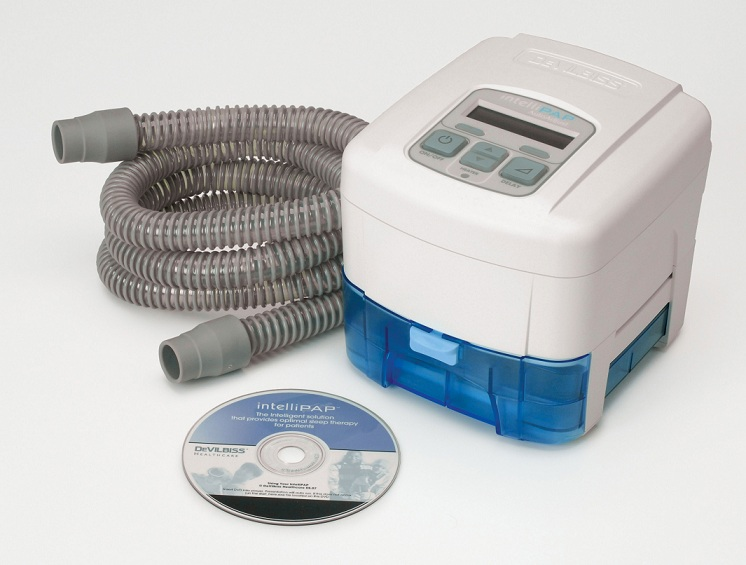 intellipap autoadjust cpap machine with heated humidifier and smartflex