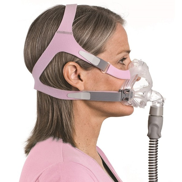 ResMed Quattro FX for Her Full Face CPAP Mask