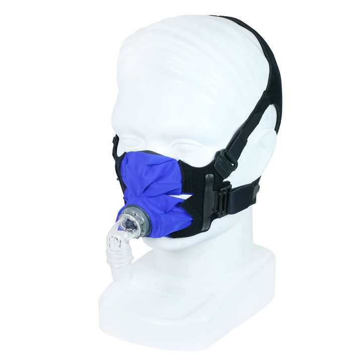 SleepWeaver Anew Soft Cloth CPAP Full Face Mask with Headgear