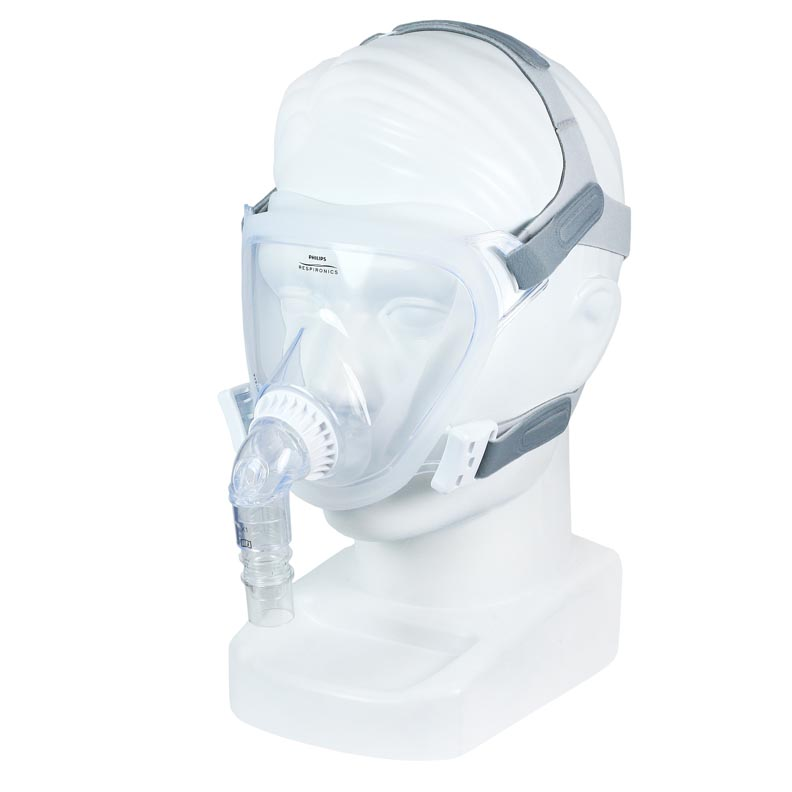 Respironics FitLife Total Face CPAP Mask with Headgear