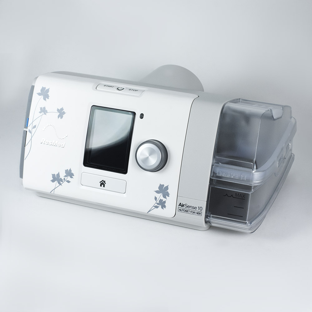 ResMed AirSense 10 AutoSet CPAP for Her with Humidifier