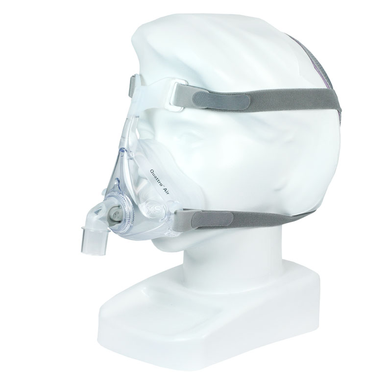ResMed Quattro Air TM for Her CPAP Full Face Mask with Headgear