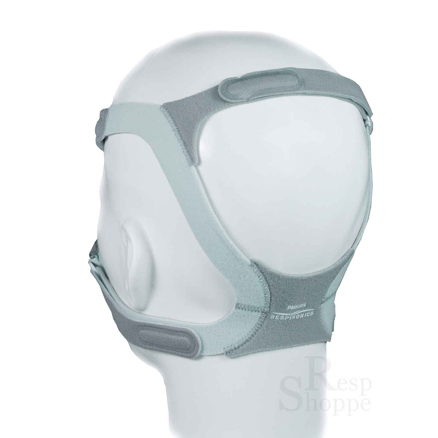 Respironics TrueBlue Gel Nasal Mask with Headgear #2F3E41