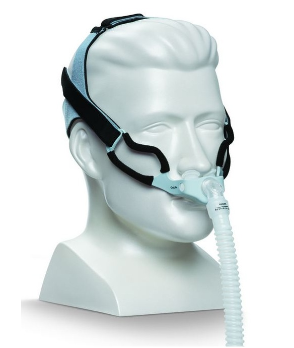 Respironics GoLife for Men CPAP Nasal Pillow Mask w/ Headgear