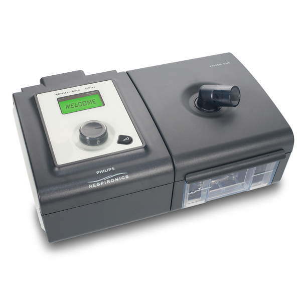 PR System One DS750 REMstar BiPAP Auto with humidifier