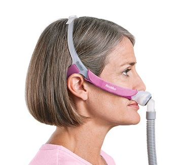 ResMed Swift™ FX for Her Nasal Pillow Mask with Headgear