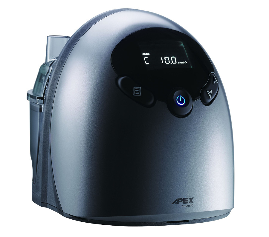 APEX Medical iCH Auto Travel CPAP Machine with Humidifier