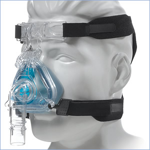 Respironics CPAP Mask with Headgear - ComfortGel