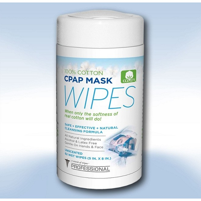 CPAP Mask Cleansing Wipes - Cleaning CPAP Equipment Properly