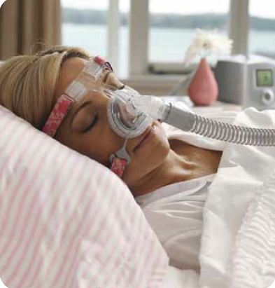 Fisher Paykel Lady Zest Q Nasal CPAP Mask