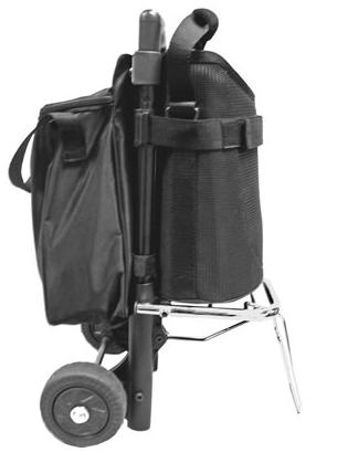 Invacare Solo2 Oxygen Portable Concentrator Wheeled Cart