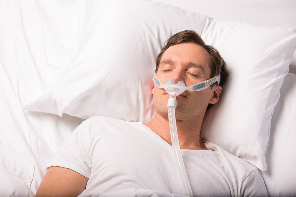 Nuance Gel Cpap Nasal Pillow Mask With Fabric Or Gel Frame