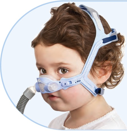 ResMed Pixi™ Pediatric CPAP Mask with Headgear
