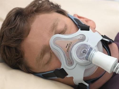 Respironics FullLife Fitpack Mask with Headgear - CPAP Mask Sizing Gauge