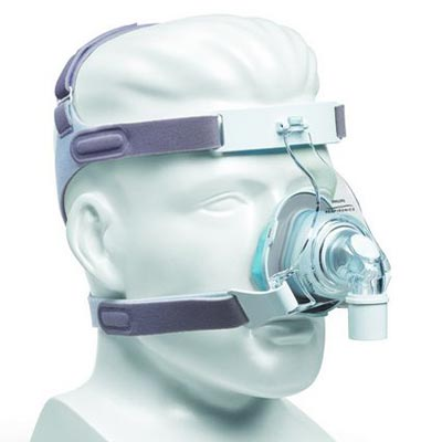 Respironics TrueBlue Gel Nasal CPAP Mask with Headgear